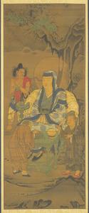 Fifth Rakan, one of Sixteen Rakan (Arhats)
