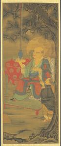 Second Rakan, one of Sixteen Rakan (Arhats)