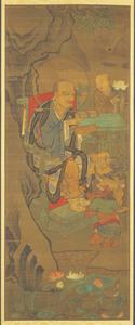 Ninth Rakan, one of Sixteen Rakan (Arhats)
