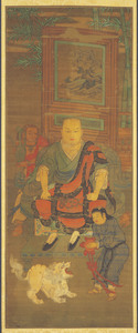 Tenth Rakan, one of Sixteen Rakan (Arhats)