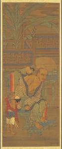 Twelfth Rakan, one of Sixteen Rakan (Arhats)
