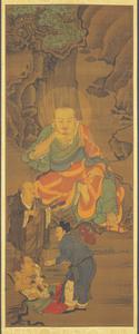 Fourteenth Rakan, one of Sixteen Rakan (Arhats)