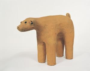 Haniwa (Clay Figure), (Presumably excavated from Tojuku, Tōkai-mura, Ibaraki)_1