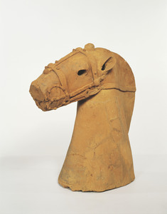 Haniwa (Clay Figure), (Presumably excavated from Tojuku, Tōkai-mura, Ibaraki)