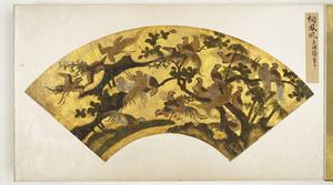 Senmen Gajō, Fan-shaped Paintings