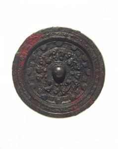 Mirror (Excavated from Tenjin'yama tumulus, Nara)