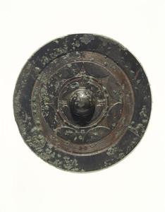 Mirror (Excavated from Tenjin'yama tumulus, Nara)