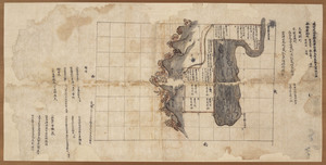Maps of the estates of Tōdai-ji temple in Etchū Province and Echizen Province