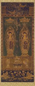 Shaka (Śākya) and Amida (Amitābha)
