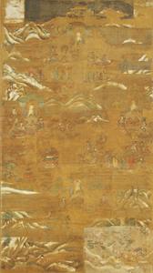 Mandala of the Lotus Sutra (J., Hokekyō Mandara)