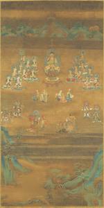 Śākyamuni Preaching on Vulture Peak