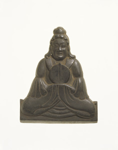 Votive Plaque, Female Deity, Partial