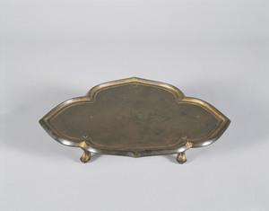 Gilt-bronze Vajra Tray (Kongōban)
