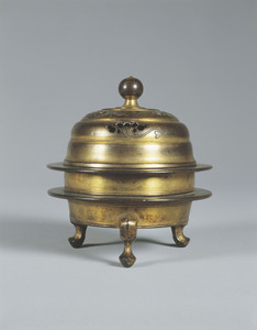 Gilt-bronze Incense Burner (Kasha)