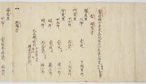 Documents of Kakuanji-Temple (Genkō3nenkanaokahigashinoshōsitajichūbunkankeimonjo)_6