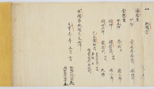 Documents of Kakuanji-Temple (Genkō3nenkanaokahigashinoshōsitajichūbunkankeimonjo)_5