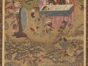 Ten Kings of Hell, Yanluo Wang (J., Enra Ō; Skt., Yamaraāja)_3