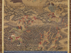Ten Kings of Hell, Yanluo Wang (J., Enra Ō; Skt., Yamaraāja)_4