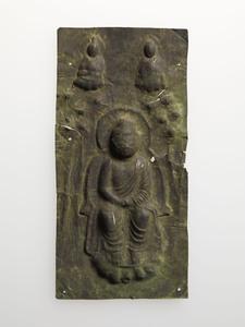 Mounted Buddha