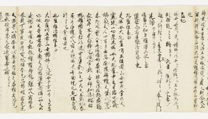 Zappitsu-shū (Collected Notes and Records), (Sho-hyōbyaku)_19