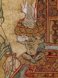 刺繍釈迦如来説法図_68