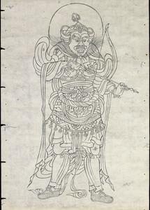 東大寺戒壇院厨子扉絵図像_45