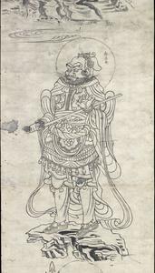 東大寺戒壇院厨子扉絵図像_47