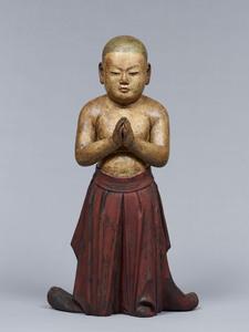 Standing Namubutsu Taishi (Prince Shōtoku)
