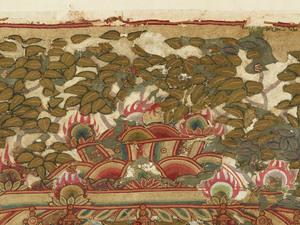 刺繍釈迦如来説法図_129