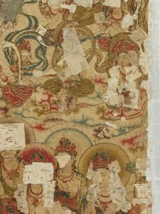 刺繍釈迦如来説法図_149
