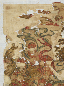刺繍釈迦如来説法図_154