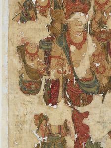 刺繍釈迦如来説法図_156