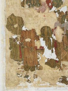 刺繍釈迦如来説法図_157