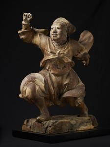 Standing Guardian Deity of Temple Precincts (Garanshin)