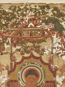 刺繍釈迦如来説法図_191