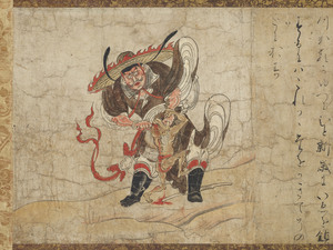Shōki, The Demon Queller (Zhongkuei), Extermination of Evil (J., Hekija-e)_1