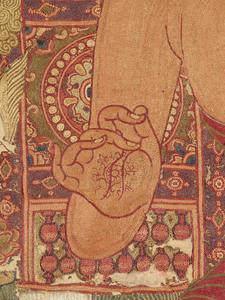 刺繍釈迦如来説法図_254