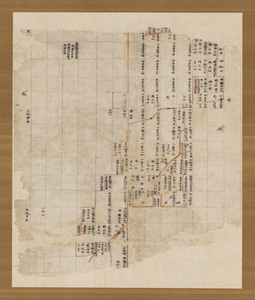 Map of the estate of Tōdai-ji temple in Naruto village in Etchū Province_1