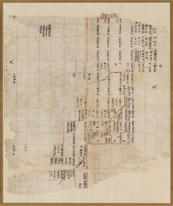 Map of the estate of Tōdai-ji temple in Naruto village in Etchū Province_2