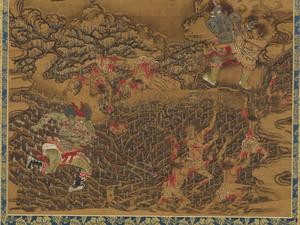 Ten Kings of Hell, Yanluo Wang (J., Enra Ō; Skt., Yamaraāja)_12