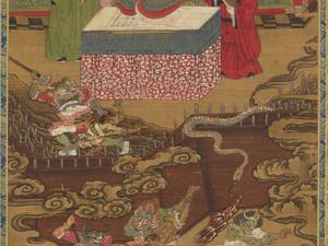 Ten Kings of Hell, Taishan Wang (J., Taizan Ō)_11