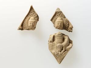 六角形塼仏(三重県天華寺出土)