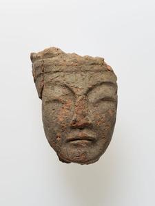 塑像(菩薩像頭部)(奈良県定林寺出土)