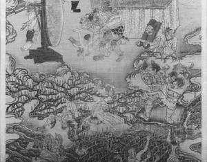 Ten Kings of Hell, Yanluo Wang (J., Enra Ō; Skt., Yamaraāja)_7