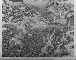 Ten Kings of Hell, Yanluo Wang (J., Enra Ō; Skt., Yamaraāja)_8