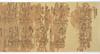 Iconographic Drawings of the Deities of the Womb World Mandala (J., Taizō Zuzō), Scroll 2