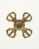 Gilt-bronze Four-directional Karma Vajra Pestle (Katsuma)