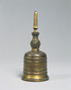 Gilt-bronze Single Pronged Vajra Bell (one of a set of five)