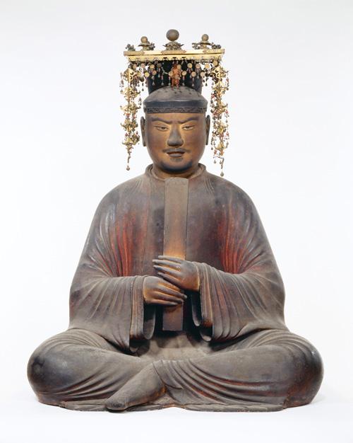 国宝 聖徳太子坐像 奈良 法隆寺蔵